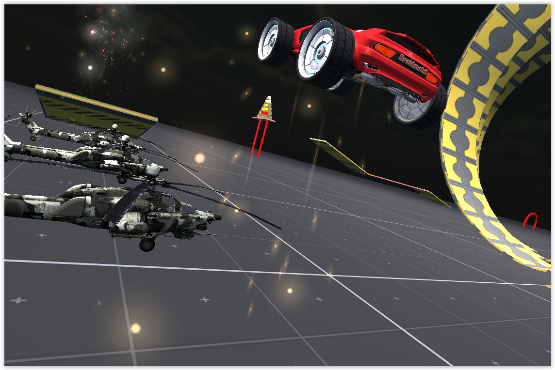 Acrobatic Car 3D V2- screenshot