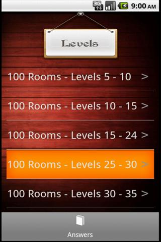 100 Rooms Guide - screenshot