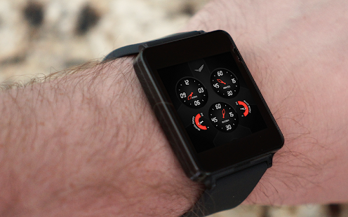 Analog Aviator Watch Face- screenshot thumbnail