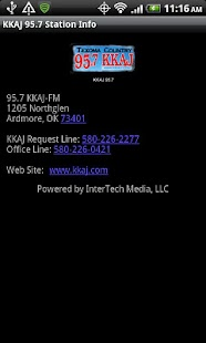 KKAJ 95.7 - screenshot thumbnail