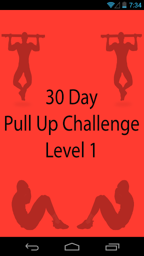 30 Day Pullup Challenge Level1