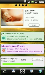 Pregnancy app & widget Screenshot 1