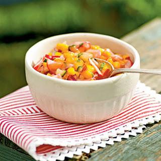 Nectarine and Radish Salsa