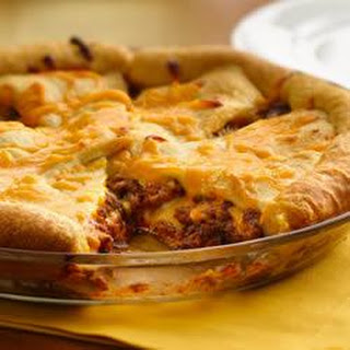 Cheeseburger Crescent Bake