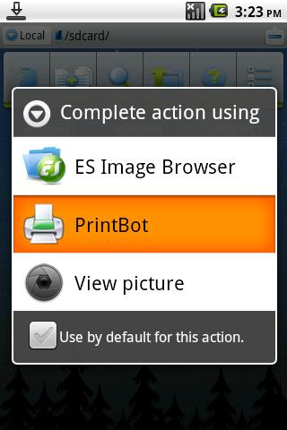 PrintBot - screenshot