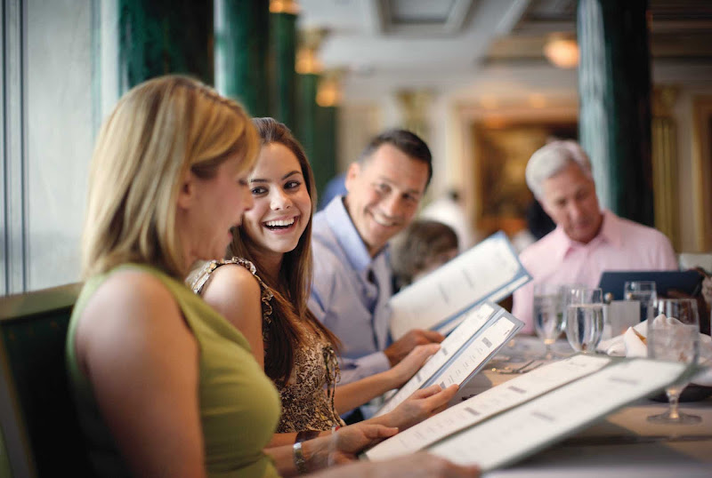 Families on a Norwegian Pearl cruise will look forward to delectable selections at Summer Palace.