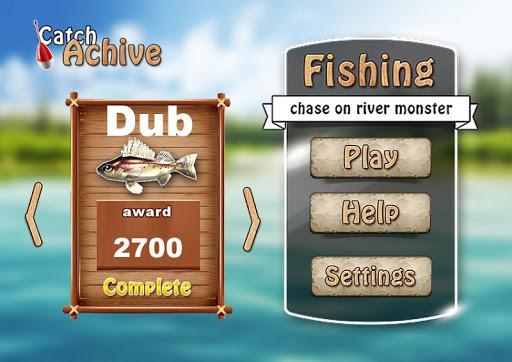 Fishing. River monster.