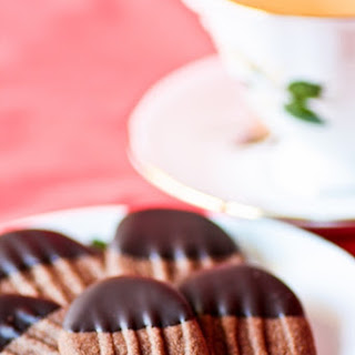 Chocolate Viennese Biscuits.