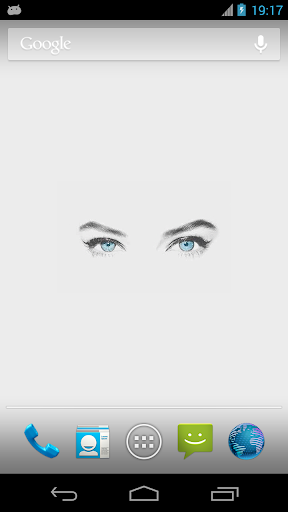 Sexy Eyes Live Wallpaper