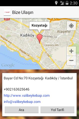 【免費生活App】Valibey Kebap-APP點子