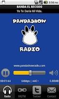 Screenshot of Panda Show Radio
