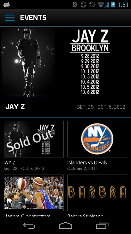 Barclays Center - screenshot