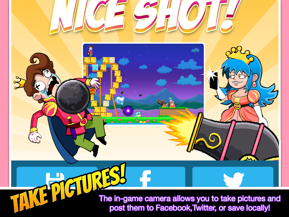 Princess Pow: Castle Smash- screenshot