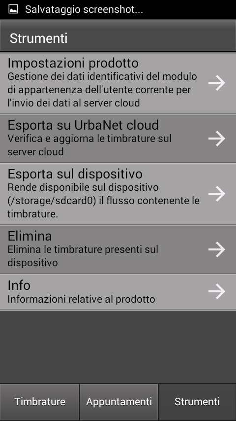Urbanet Badge Mobile- screenshot