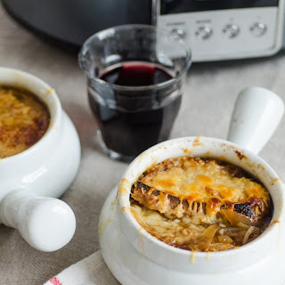 How To Make French Onion Soup in the Slow Cooker