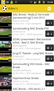 NAC Breda Fan - screenshot thumbnail