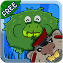 Battle Frogging Free icon