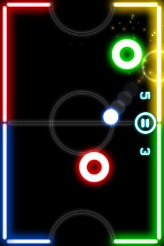 Glow Hockey  screenshots 2