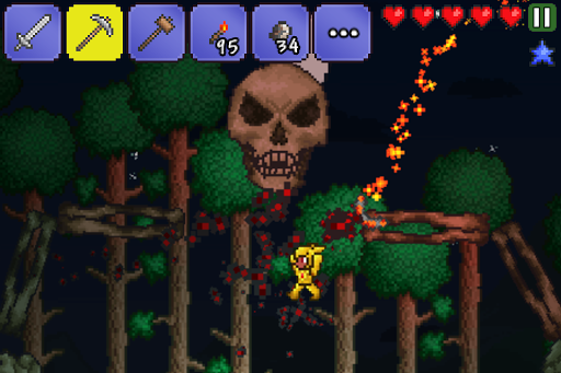 Screenshot for Terraria. in United States Play Store