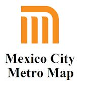 Mexico Metro Map
