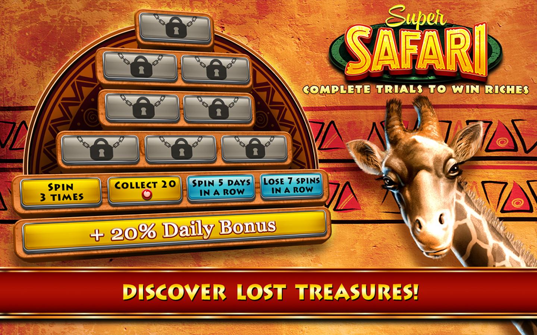safari casino games free