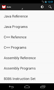 Java, C++, ASM Programs & Ref - screenshot thumbnail