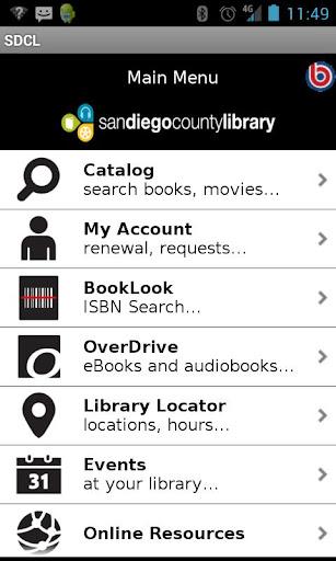 San Diego County Library  screenshots 1