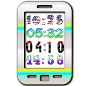 Yaclock digital clock Widget