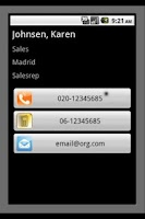 Screenshot of eXtra Contacts