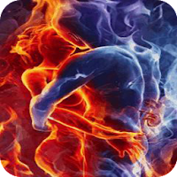 Fire and Ice Live Wallpaper 5.5