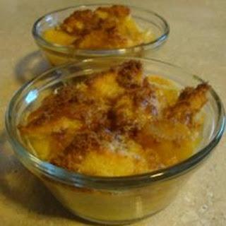 Pineapple Bread Souffle.