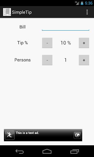 Simple Tip Calculator