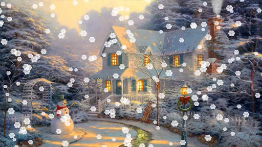 Snow Animated Live Wallpaper