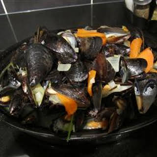 Savory Mussels.
