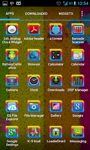 Rainbow Frame Theme Pack 1 2 APK for Android