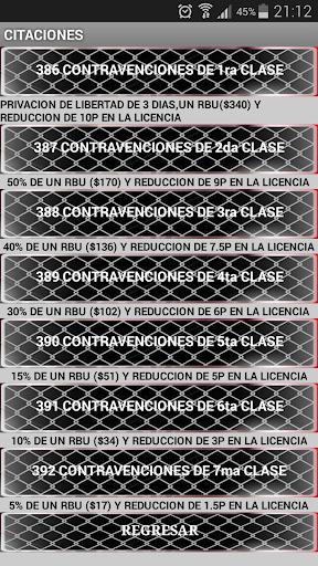 Contravenciones Ecuador