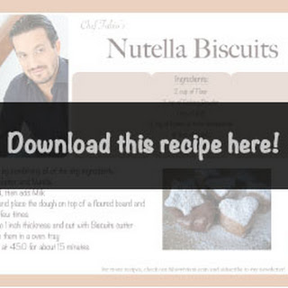 Nutella With Biscuit Recipes.