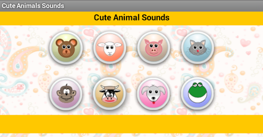 Cute Animal Sounds for Babies