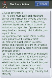 Zimbabwe Constitution - screenshot thumbnail