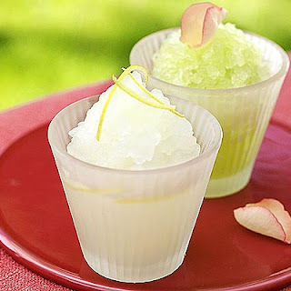 Melon & Rose Granita Recipe
