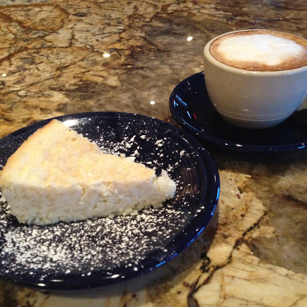 Try the Pasticeri ricotta and risotto cake it's gluten free and delicious!