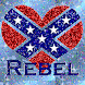 Rebel Flag Heart LWP
