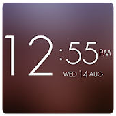 UCCW Theme Elegant HD Clock