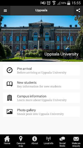 Study at Uppsala University