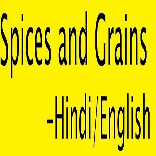 Spices and Grains in Hindi