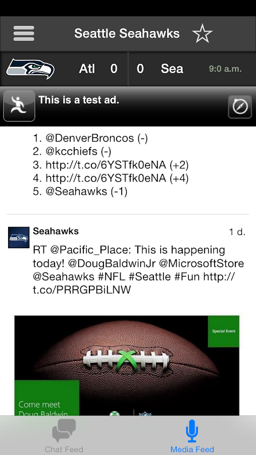 Seattle Seahawks FanSide - screenshot