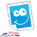 GalaxyNote - Postcard Editor icon