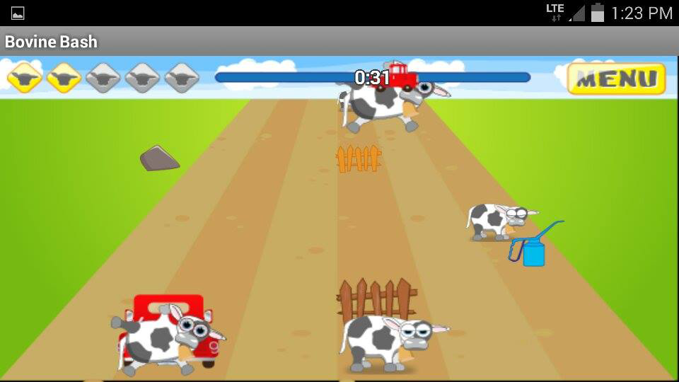 Bovine Bash- screenshot