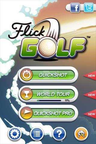 Flick Golf! v1.4 APK