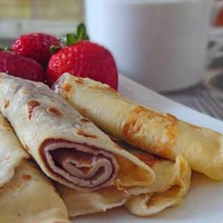 Palachinkes with Strawberries Recipe
